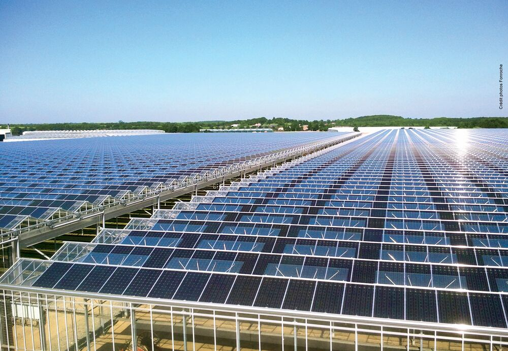 Aimargues Serres Agricoles Solaires Solstice Groupe